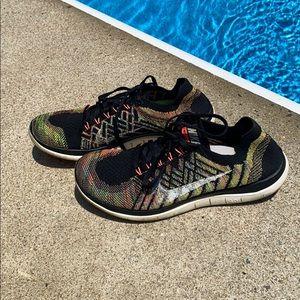 Nike Free Run Flyknit Running Sneaker